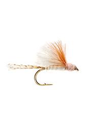 The Dawkins's Bi-Focal Dun fly is a lifelike imitation of a tasty adult mayfly.