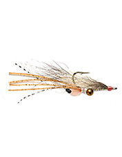 Bonefish chases on the flats turn into successful catches with Koga's Bonefish Shrimp fly.