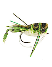 Bass can't pass up the realistic movement and look of Cohen's Frog-Legged Popper.