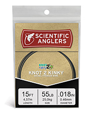 Bring in toothy fish with durable Knot 2 Kinky titanium alloy Predator Single-Strand Wire.