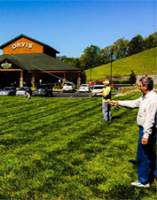 Enjoy some of the best fly fishing in the south at our fly-fishing school in Sevierville, TN.
