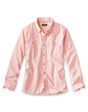 Our lightweight Flat Creek Shirt keeps you cool thanks to a hardworking fabric blend.