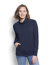 Feel for yourself why we call this soft-to-the-touch sweatshirt our Perfect Cowlneck.
