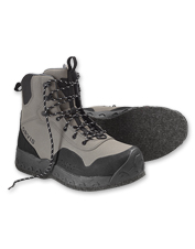 We've upgraded our men's Clearwater felt sole wading boot for better performance and comfort.