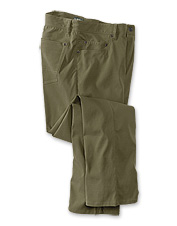 Our Curious Traveler 5-Pocket Pants never quit before the adventure ends.