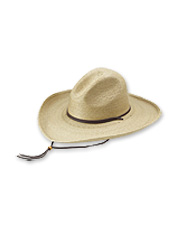 This Stetson Cowboy Hat is the genuine article, but in cool, breathable straw.