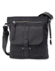 The mighty Gotta Run Crossbody Bag by Pistil is all about thoughtful design and utility.