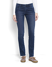 Adventures need not cease due to inclement weather—these Fleece Denim Jeans take on the chill.