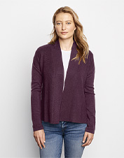 Reach for our Signature Merino Short Cardigan when the season begs for a chic, casual layer.