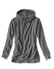 Cozy nights in or on-the-go days—our Supersoft Hooded Cowl Sweatshirt is ready for the job.