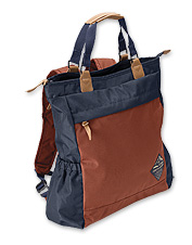 This eco-friendly Summit Convertible Tote by United by Blue adjusts to suit your every need.