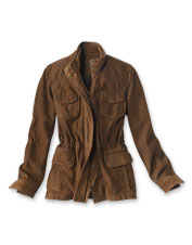 Its supple suede is eye-catching, but this Range Jacket is as functional as it is fashionable.