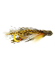 Earn impressive predatory strikes and thrilling catches with Cohen's Manbearpig streamer fly.