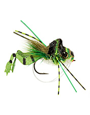 Coveted predator fish can't resist the realistic Cohen's frog-legged deer hair diver fly.