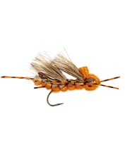When the hatch calls for a stonefly pattern, the buoyant foam Triple Stack fly is the one.