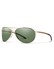 When bigger isn't better, reach for these aviator-style Smith Serpico 2 Slim Sunglasses.