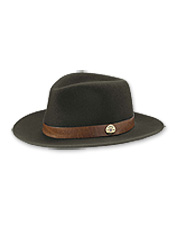 This distinctive Orvis Shotshell Hat in wool felt is crafted to uncompromising standards.