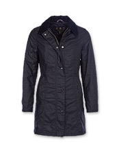 Discover a love of blustery days—any excuse to wear the Belsay Waxed Cotton Jacket by Barbour.