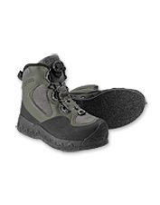 Dial in an incredible, customized fit in Pivot Felt Wading Boots with the Boa Closure System.