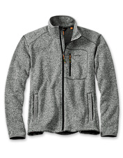 Beat cold days and windy weather in our perfect-for-layering Full-Zip Sweater Fleece Jacket.