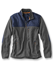 We snuck a little Western style into the design of this warm Big Sky Full-Zip sweater fleece.