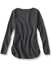 Our easy tunic earns a superb silhouette from a blend of luxurious cashmere, silk, and cotton.
