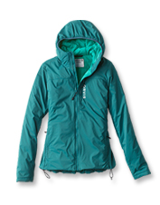 Our Women's PRO Insulated Hoodie blocks foul weather and seals in warmth on fishing treks.