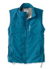 The Men's PRO Insulated Vest layers warmth without bulk for every cold-weather fishing trip.