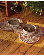 Add some canine charm to your home or patio with this Dog Bone Indoor/Outdoor Mat.
