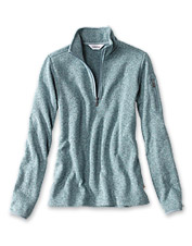 Layer up against the elements in our smart, season-spanning Marled Sweater Fleece Quarter-Zip.