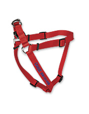 This durable, Adjustable Dog Harness can be personalized for extra security.