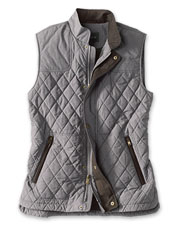 A double-duty layer, our versatile RT7 diamond-quilted vest provides warmth and style.