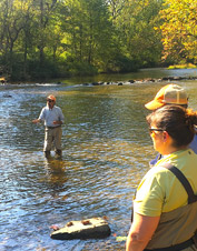 Our Pennsylvania fly fishing school will prepare you for any water, anywhere.