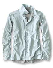 The Men's PRO Hybrid fishing shirt offers top-level cooling technology and UV protection.
