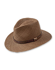 Nothing says summertime quite like this handsome, woven Man's Best Friend Panama Hat.