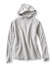 Enjoy better coverage for your head in our Women's PRO Sun Hoodie, with UPF 50 sun protection.