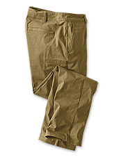 These ripstop cargo pants offer concealed zippered pockets to safely stash travel essentials.