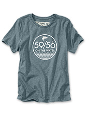 Champion our 50/50 On the Water campaign when you wear this women's short-sleeved tee.