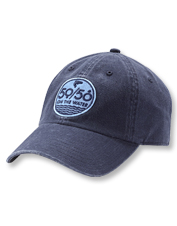 Twill gives our 50/50 logo ball cap a comfortably soft feel, without sacrificing durability.