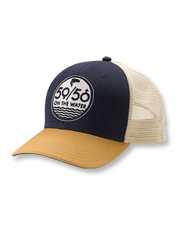 Our 50/50 logo trucker cap invites more women to discover a love of the angling life.