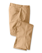 Sunup to sundown, our Wrinkle-Free Cotton Stretch Chinos maintain their polished appearance.