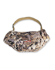Rely on this waterproof camo handwarmer muff from Sitka for warm fingers without the bulk.