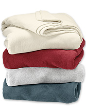 These wool-blend blankets are so cozy you'll want one within reach in every room of the house.