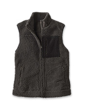 Versatility at its finest, wear this Shearling Reversible Vest suede or wool side out.
