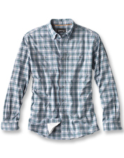 Stay comfortably cool and dry all day in the Flat Creek Organic Stretch Long-Sleeved Shirt.