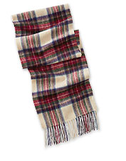 When winter weather blows in, wrap up in a warm tartan or solid Scottish Lambswool Scarf.