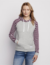 The comfort and softness of French terry is the ideal match for our Perfect Colorblock Hoodie.