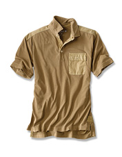 Our Safari Polo takes everything you love about your favorite field shirt and amps it up.