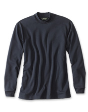 Our casual Classic Mockneck pullover is a versatile seasonal layer that wears well anywhere.