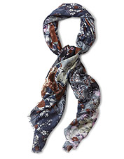 You can wear florals in any season with this lightweight, versatile Autumn Ditsy Print Scarf.